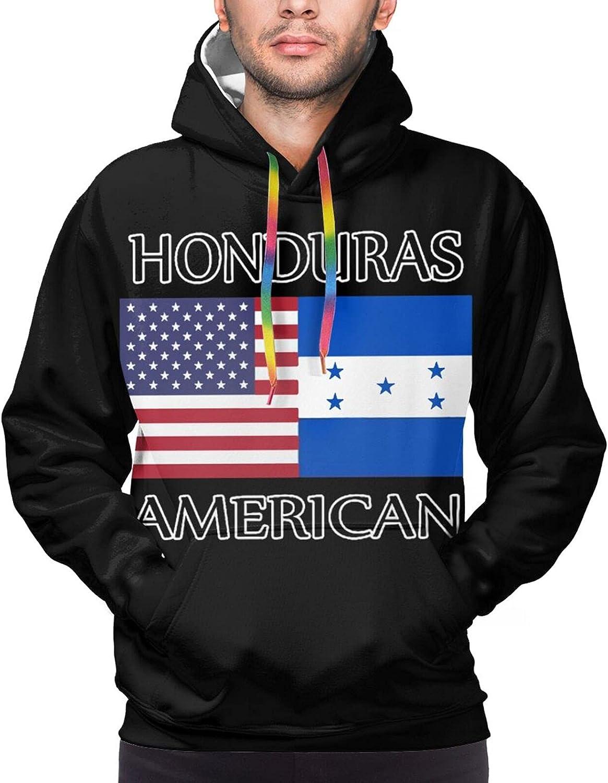 Hoodie For Men Women Unisex Honduras American Flag Double-Sided 3d Sweatshirt Hoodie