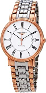 Longines Flagship White Dial Automatic Men's Two Tone Watch L49211117