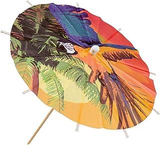Hawaii Cocktailschirmchen Dekoschirmchen 6 Stk Eisschirmchen Beachparty