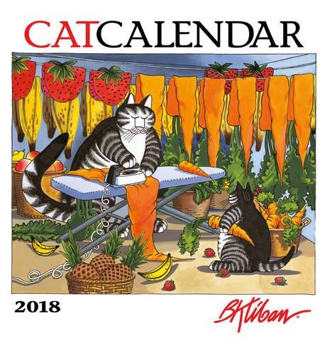 B. Kliban: CatCalendar 2018 Wall Calendar