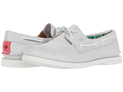 Sperry A/O PlushWave Smooth Leather (Grey) Women