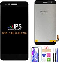 Compatible with LG Rebel 4 LTE LCD Display Screen Replacement,for K8 2018 X210/LG Rebel 4 LTE L212 L212VL L211BL L212BL Di...