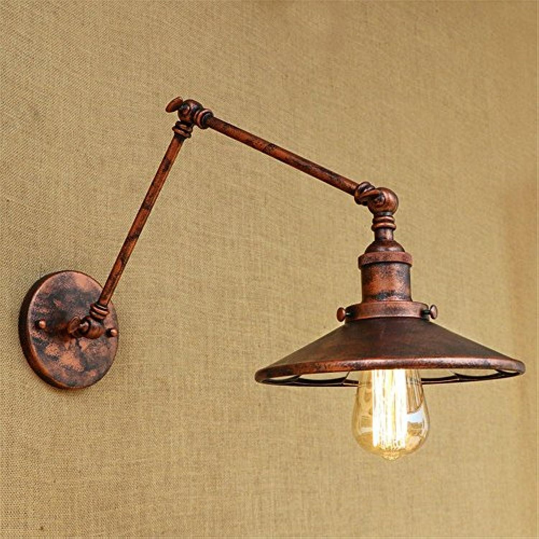Wall Light Home Vintage dekorative Wandleuchte mit Linse Persnlichkeit rot Kupfer Eisen Beleuchtung Restaurant Schlafzimmer Nachttischlampe Wandleuchte (Farbe   B)