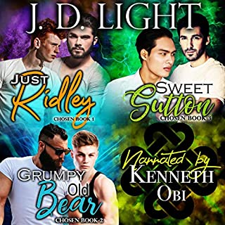 Chosen Bundle: Books 1-3                   By:                                                                                                                                 J. D. Light                               Narrated by:                                                                                                                                 Kenneth Obi                      Length: 6 hrs and 24 mins     8 ratings     Overall 4.6