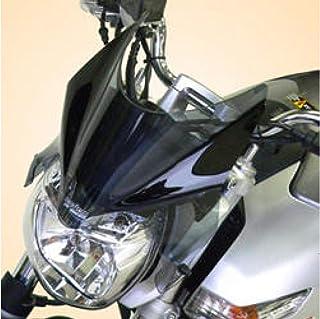 Iridio profundo Motocicleta Burbuja doble Pantalla de viento Parabrisas Deflectores de viento Flujo de aire de la pantalla para GSR400 GSR600 GSR 750
