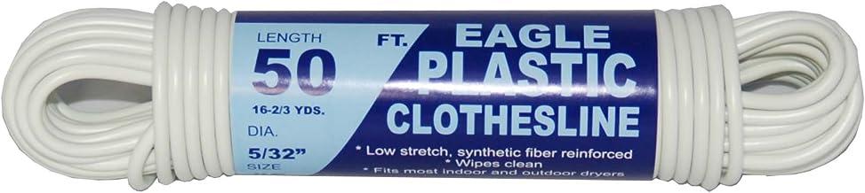 TW Evans Cordage 775-050-03 Clothesline, 5/32 in Dia x 50 ft L