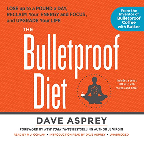 The Bulletproof Diet audiobook cover art