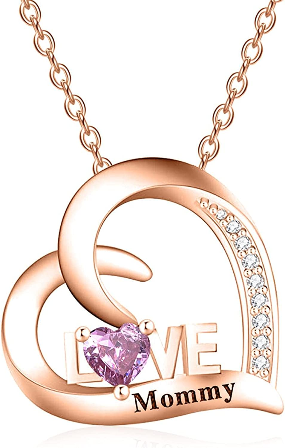 Personalized Heart Name Necklace Max 40% OFF 925 Philadelphia Mall Custom Sterling Simu Silver
