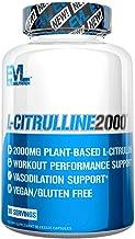 Evlution Nutrition L-Citrulline2000, Ultra-Pure Plant-Based Citrulline Supplement, Nitric Oxide, Pumps, Muscle Endurance a...