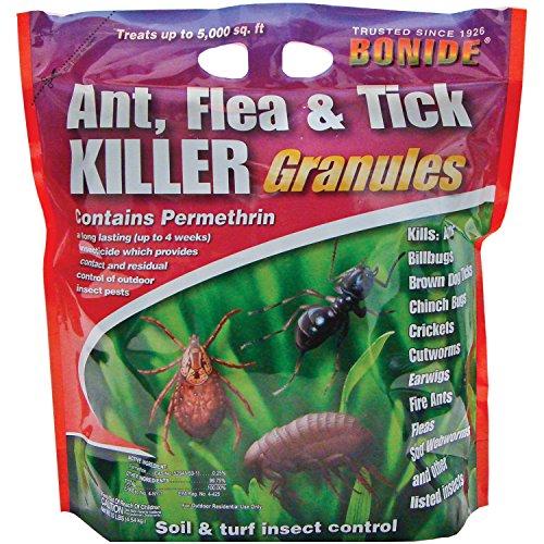 Bonide (BND60614 - Ant, Flea, & Tick Killer Insecticide/Pesticide Granules (10 lb.)