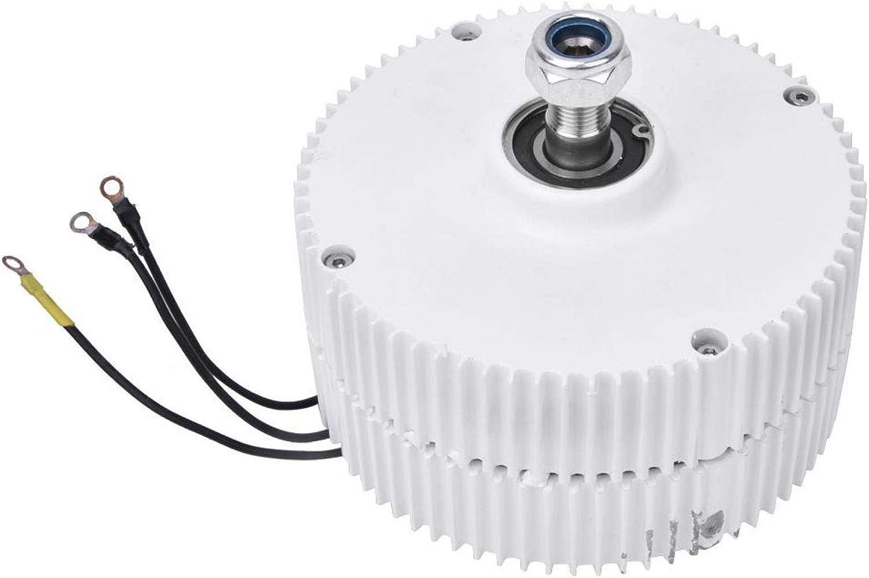 Generador de imán permanente de turbina eólica de 24V 400W Alternador síncrono trifásico Alternador síncrono trifásico Generador de motor eléctrico NE-400(Generator)