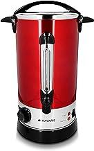 Navaris glühwein kooktoestel warm water dispenser roestvrij staal - 10l - met thermostaat vulstand kraan - glühwein warme ...