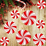 Peppermint Floor Decals Stickers for Christmas Decoration Candy Party Supply