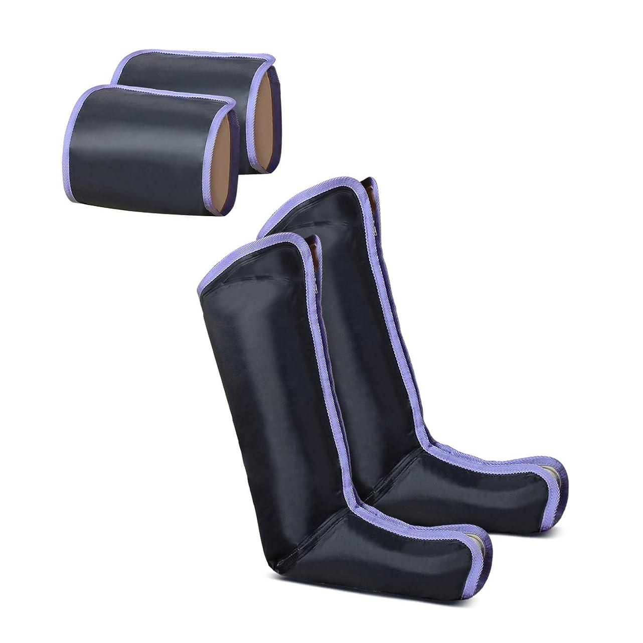 マイクロフォンポスト印象派放射するSOLIN エアーマッサージャー 電気マッサージ機 ひざ 太もも対応 血行の促進