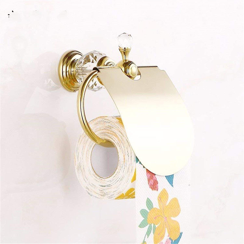 The Base of gold in Cristal Pendentif Copper Hook Hook All Bathroom,Rack Toilet Paper