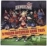 Zombicide: 9 Prison Outbreak Game Tiles - Juego de Mesa (CoolMiniOrNotInc. GUG0021)