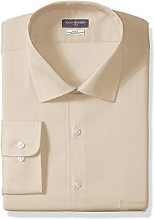 Van Heusen Men's BIG FIT Dress Shirts Flex Collar Stretch...