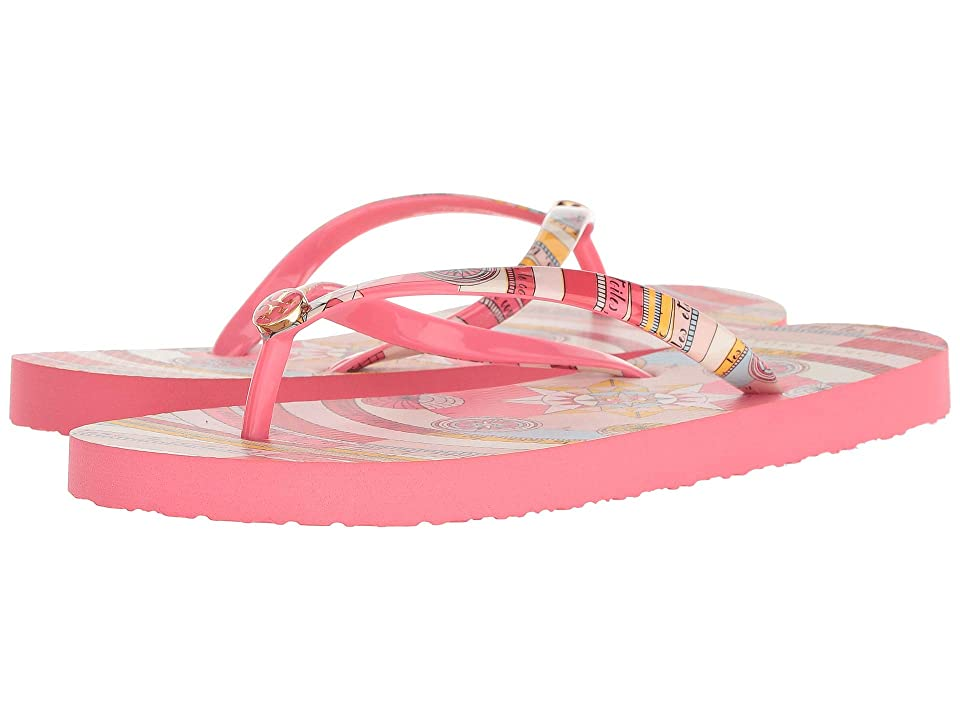 Tory Burch Thin Flip Flop (Pink Constellation) Women's Sandals