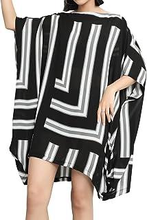 LoveSky Women Solid Color Rockabilly Sleeveless Large Size 2-Piece