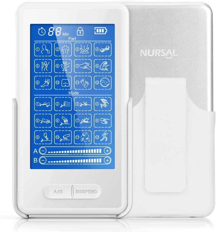 EMS TENS Unit Muscle Stimulator Max 56% OFF 24 Touchscreen Machin Recommendation Modes