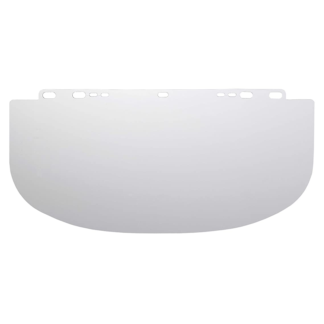"""Jackson Safety F20 High Impact Face Shield (29103), Polycarbonate, 9"""" x 19.25"""" x 0.06"""", Clear, Face Protection, Unbound, 36 Shields / Case"""