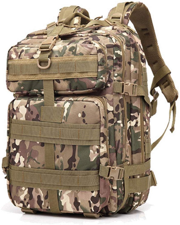 DYYTR Camouflage Field Sports Rucksack Shoulder Camping Bag, Outdoor Tactical Oxford Rucksack, Wanderrückpack