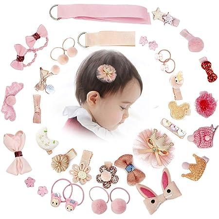 Hairpins Slides Snap Baby Girls Animals Hair Accessories Princess Ice Cream