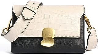Ladies Bag Spring Summer Simple Leather Bag Shoulder Diagonal Small Square Bag Women's New Handbag(FM),D