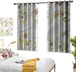 Best threshold climbing vine curtains blue Reviews