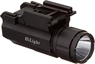 HiLight Aimkon P10S 500 Lumen Pistol LED Strobe Flashlight with Weaver Quick Release for..