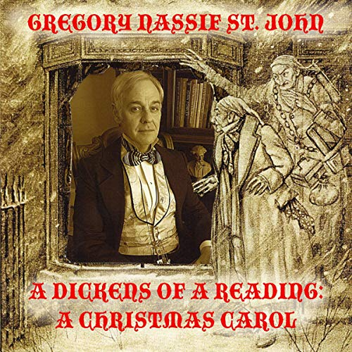 A Dickens of a Reading: A Christmas Carol Titelbild