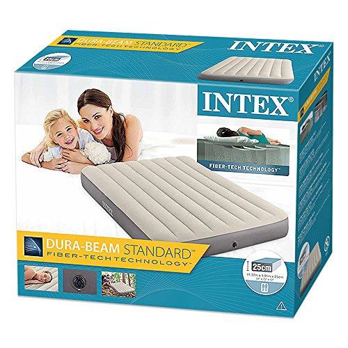 INTEX(インテックス)エアーベッドデラックスシングルハイエアーベッドダブル137×191×25cm64708[日本正規品]