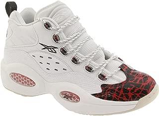 Reebok V67907 Men question Mid Prototype Sneakers White Red Black