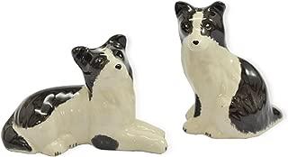 CinMin Ceramic Puppy Dog Salt and Pepper Shaker 2 Piece Set