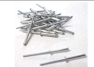 Innovo 100/x Aluminium Rivets Pop 4/mm x 18/mm Standard Open Rivets aveugles /à t/ête Ronde