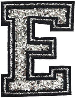 "Transfert strass Hotfix Iron Sur Motif multi couleurs Lettres /""A à Z/"" strass"