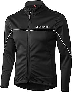 INBIKE Winter Men's Windproof Thermal Cycling Running Jacket
