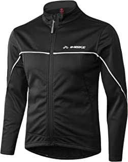 INBIKE Winter Men's Windproof Thermal Cycling Running Jacket