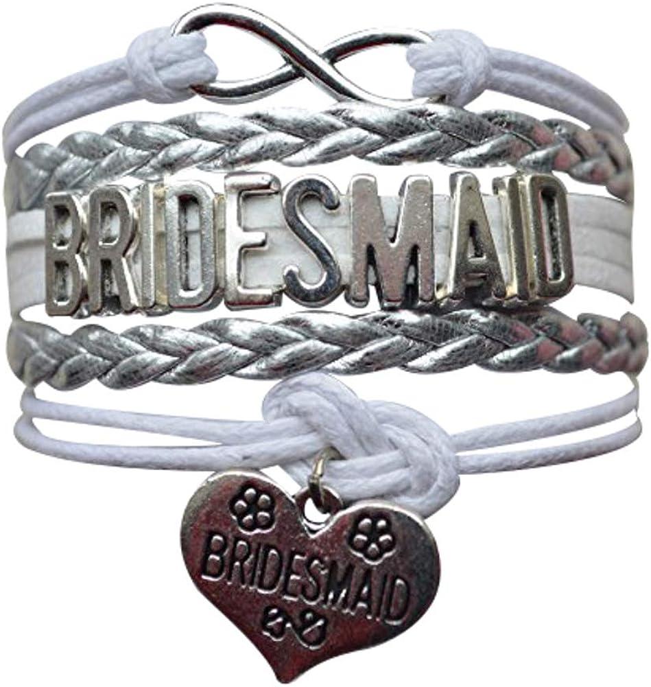 Infinity Collection Bridesmaid Gift Bracelet, Bridesmaid Jewlery