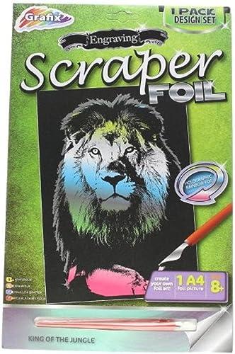 Grafix EnGrüng Scraper Foil Lion