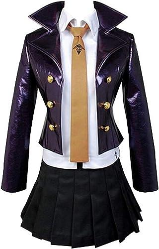 Envio gratis en todas las ordenes Helymore mujer Halloween Anime Cosplay Disfraz Disfraz Disfraz de Kirigiri Kyouko Adulto Uniforme de Detective de Cuero  Tienda 2018