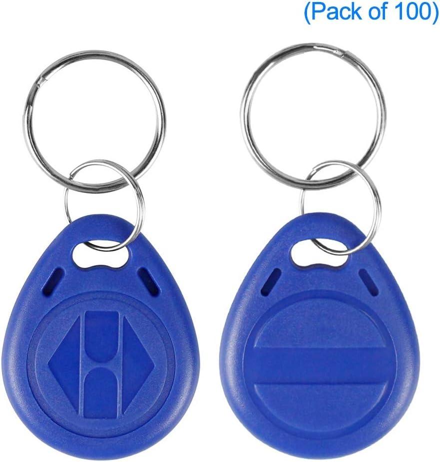 20pcs 125Khz RFID Writable Rewrite ID Keychain Tag Card for Access Control J9Y1