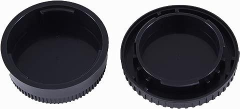 Movo Photo Lens Mount Cap and Body Cap for Nikon DSLR Camera