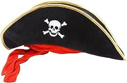 Deguisement Chapeau de Pirates des caraibes noir a