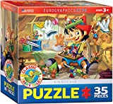 EuroGraphics - Rompecabezas Pinocho, 35 Piezas (EG80350421)
