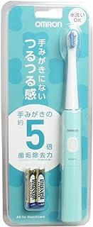 オムロンヘルスケア 音波式電動歯ブラシ ミントグリーン HT-B210-G