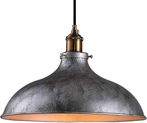 Haoaijia Lustres Loft Restaurant Bar Style Campagnard En Fer Forgé Balcons Pendentif Lampe Tête Unique Pendentif