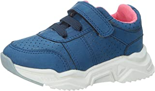 Skippy Velcro Closure Lace-Up Perforated Sneakers for Girls