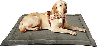Comforhome Indoor and Outdoor Sleeping Dog Mat Soft Velvet Pad Anti-Slip Machine Washable Bed