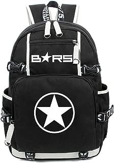 YOYOSHome Black Rock Shooter Anime Cosplay Luminous Rucksack Daypack Laptop Bag Backpack School Bag
